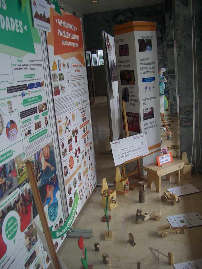 Exposição de trabalhos do Agrupamento de Escolas Gardunha e Xisto, Fundão