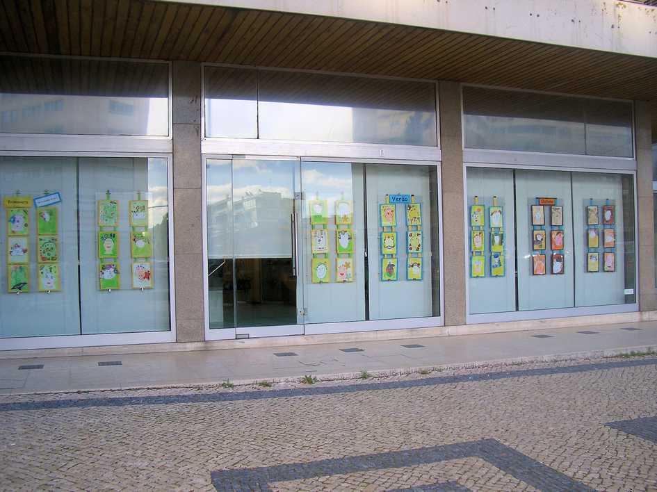 Exposição de trabalhos organizada pelo Agrupamento de Escolas Marquesa de Alorna - Lisboa