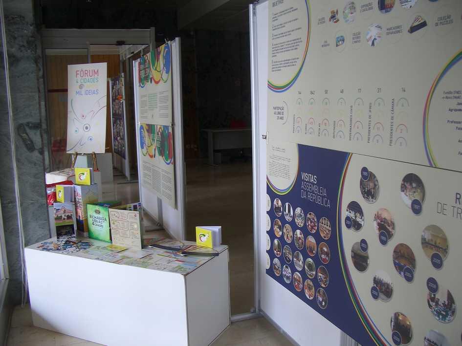Exposição de trabalhos organizada pelo Agrupamento de Escolas Gardunha e Xisto – Fundão.