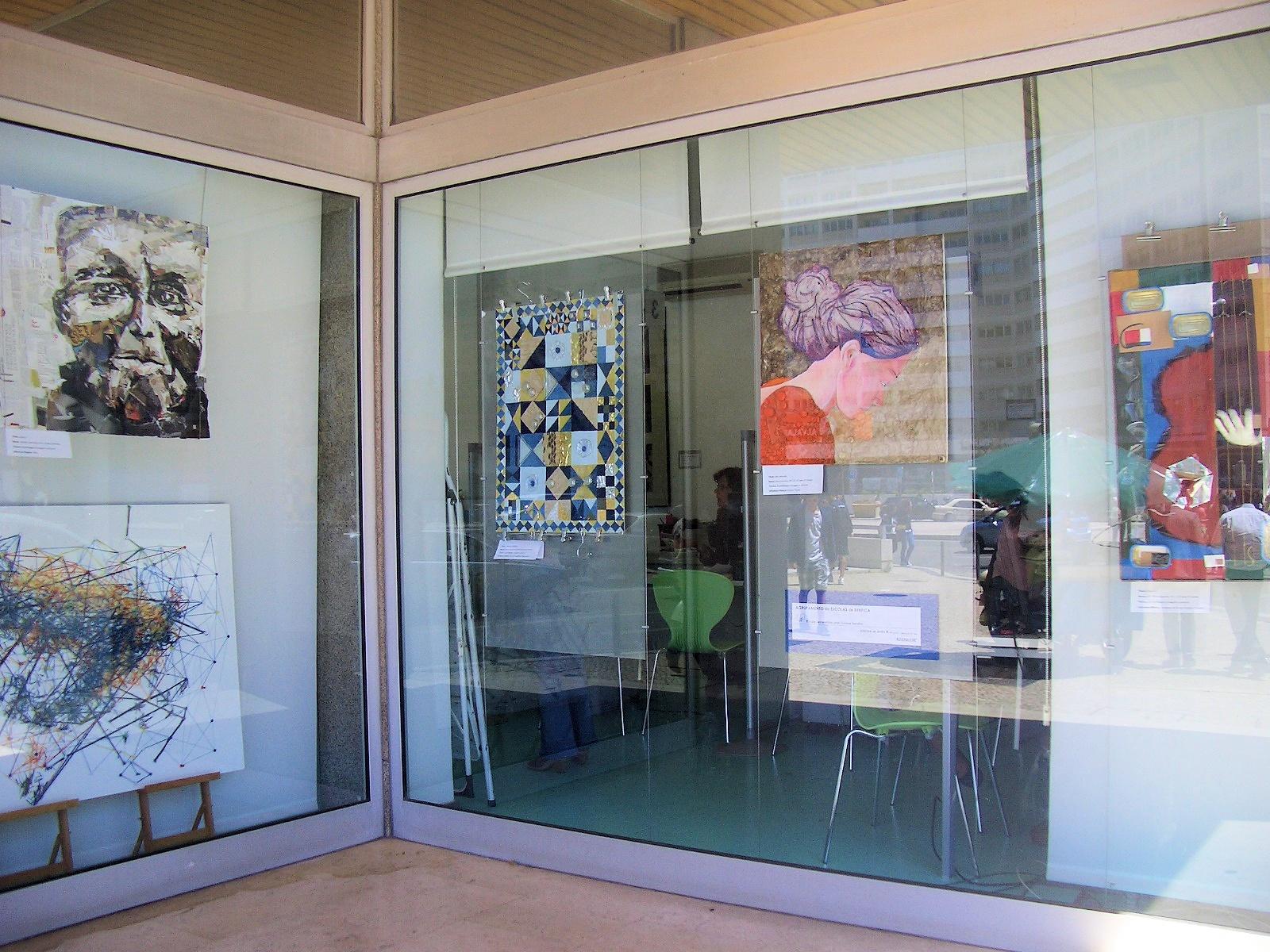 Exposição de Trabalhos organizada pelo Agrupamento de Escolas Benfica
