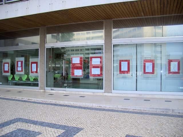 Exposição de trabalhos organizada pelo Agrupamento de Escolas Rainha D. Leonor
