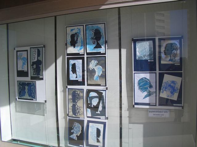 Exposição de trabalhos organizada pelo Agrupamento de Escolas D. Sancho I, Vila Nova de Famalicão