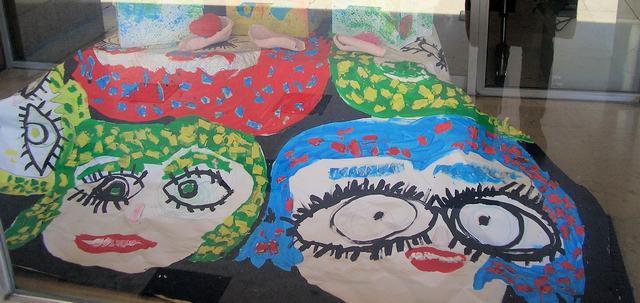 Exposição de trabalhos organizada pelo Agrupamento de Escolas Laranjeiras, Lisboa