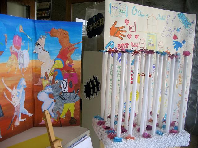 Exposição de trabalhos organizada pelo Agrupamento de Escolas Patrício Prazeres