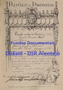Fundos Documentais DGEstE – DSRAlentejo