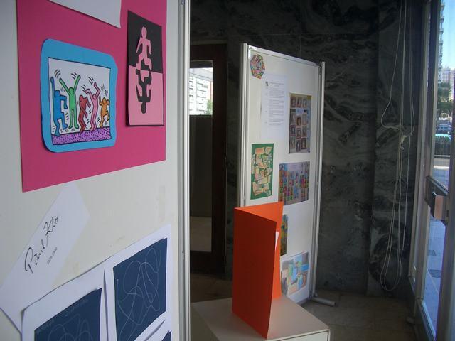 Exposição de trabalhos organizada pelo Agrupamento de Escolas D. Carlos I