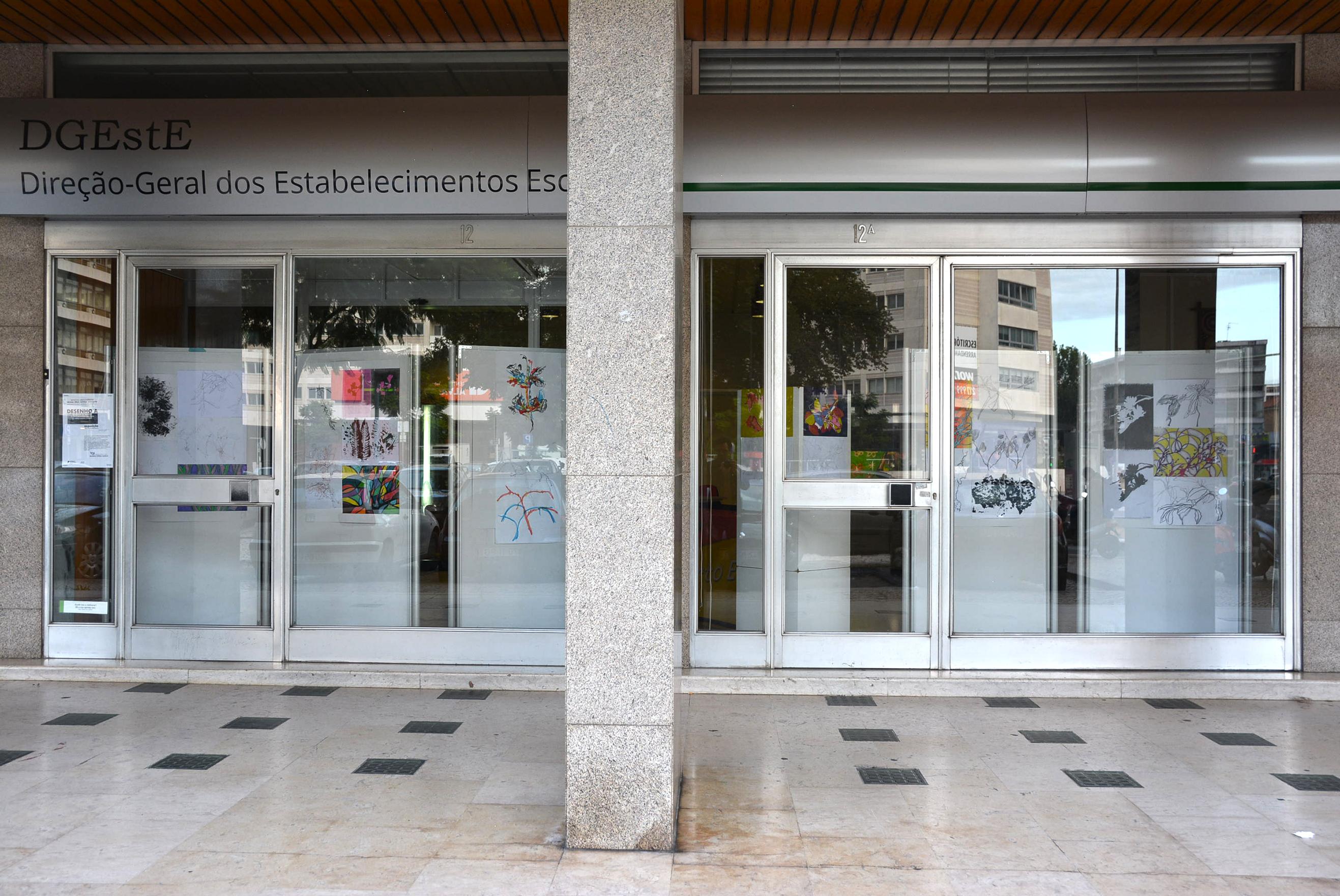 Exposição de trabalhos organizada pela Escola Secundária Rainha Dona Amélia, Lisboa