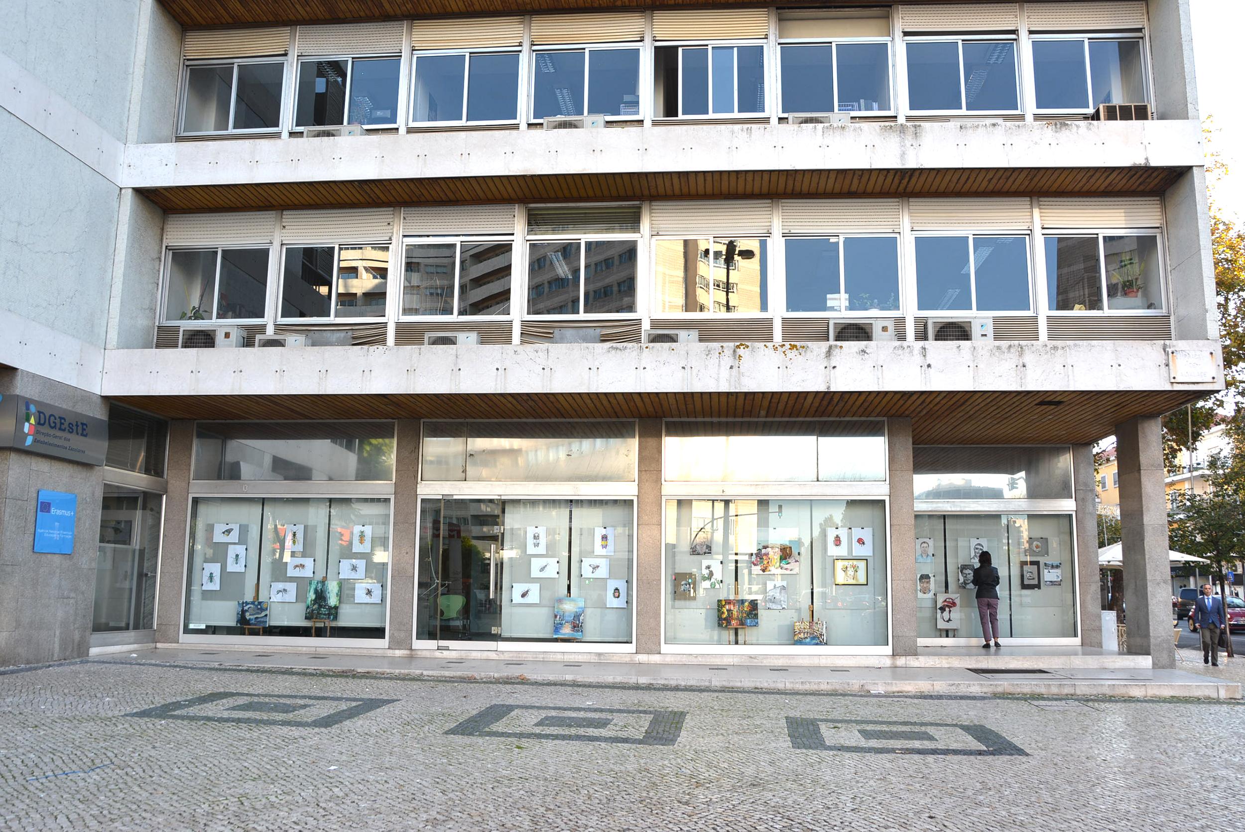 Exposição de trabalhos organizada pelo Agrupamento de Escolas de Seia