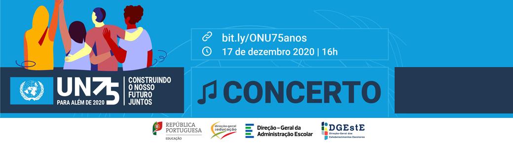Concerto 75 anos da ONU